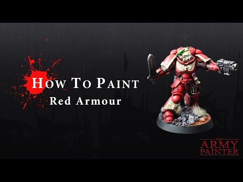 How To Paint: Red Armour