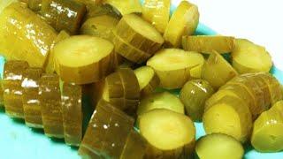 Рецепт соленых огурцов холодным способом    Засолка огурцов