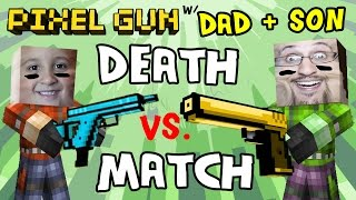Pixel Gun W/ Dad & Son: Captain America is O.P.! / Mike