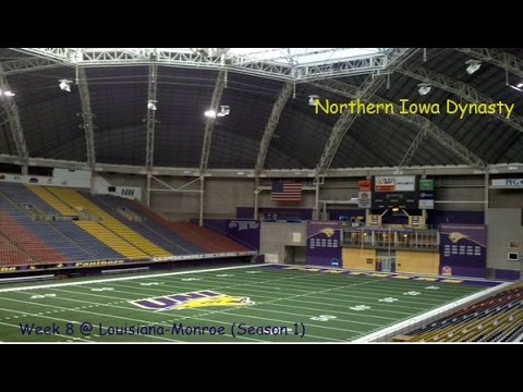 Northern Iowa Panthers Dynasty #8: Red Zone Turnovers (S1W8 @ Louisiana-Monroe)