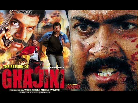 Return Of Ghajini │Latets Hindi Movie │Suriya, Trisha Krishnan