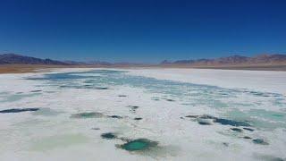 Yak Video | Amazing aerial view of salt lakes in Tibet, China