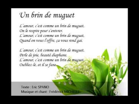 Un de brin muguet youtube for Bouquet de fleurs muguet