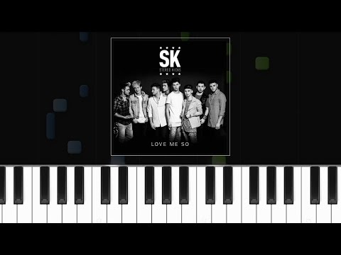 Stereo Kicks - ''Love Me So'' Piano Tutorial - Chords - How To Play - Cover