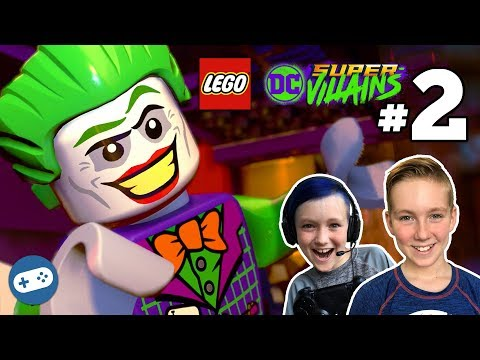 LEGO DC Super Villains Gameplay Part 2 - It's Good to be Bad