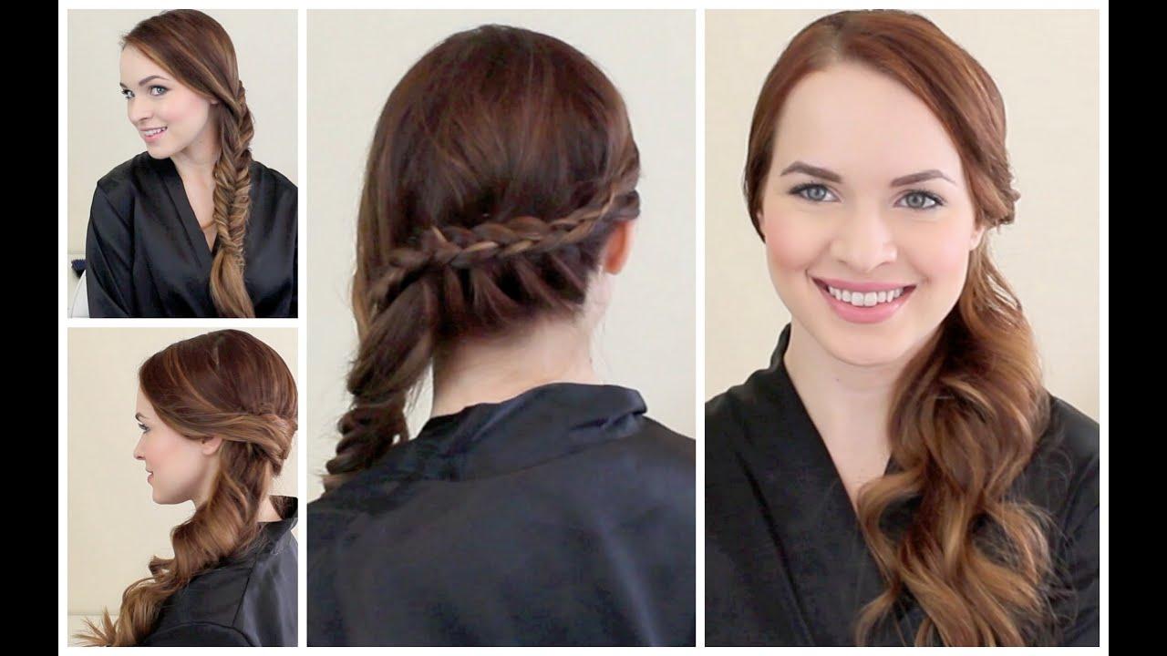 2 graduation ready hairstyles! - youtube