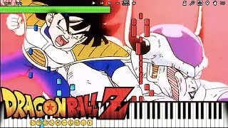 Gohan VS Frieza - Dragon Ball Z OST (Piano Tutorial) [Synthesia] // Bruce Faulconer