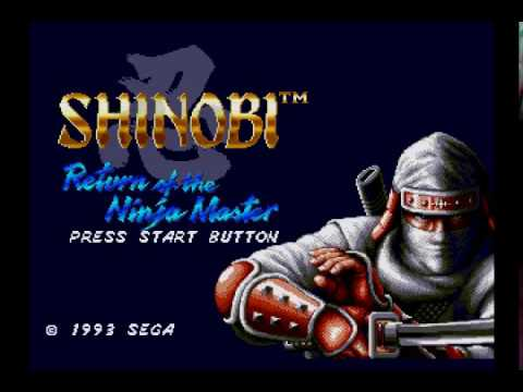 Shinobi III Expert Mode (Speed Run by Nicholas Taylor/Deliverance84) 2015 Playthrough
