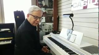 Bobby Nelson Demos the Casio AP270 Celviano Digital Piano at Piano Trends