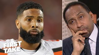 Stephen A. isn't buying Odell Beckham's excuses | First Take