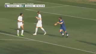 Men's Soccer - 2020/2021 NCAA Tournament First Round - Jacksonville vs American 04-29-2021