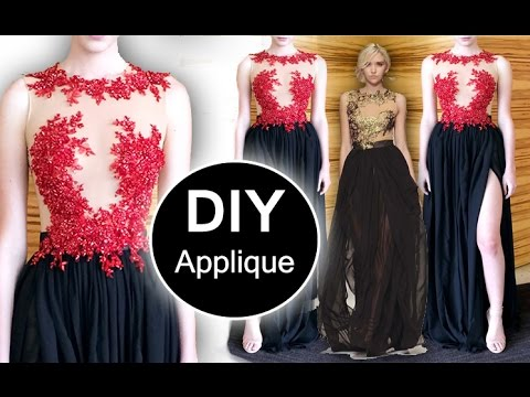 2fea89fb9796 DIY: applying appliques (Method #1) - YouTube