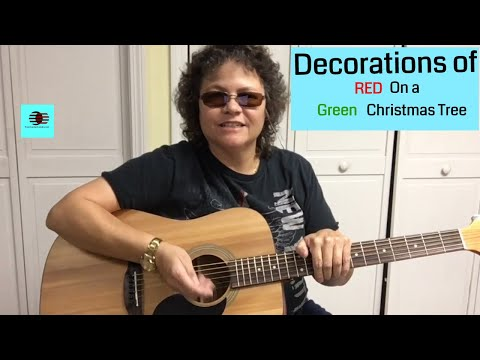 Basic Chords To Play Blue Christmas - Elvis
