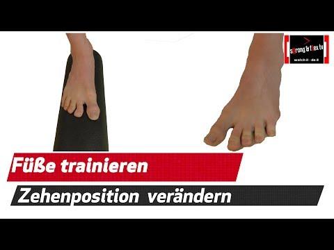fußmuskulatur-trainieren---zehenposition-mit-der-blackroll-korrigieren