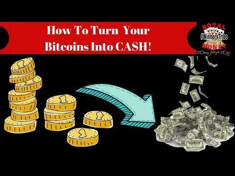 How To Convert Your Bitcoin Into Cash( After You Have Gotten Your Free Bitcoin)
