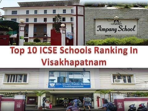 Top 10 ICSE Schools Ranking In Visakhapatnam