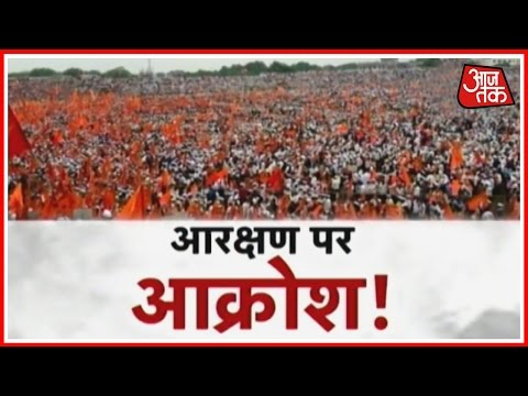 Hundreds Of Thousands Attend Maratha Kranti Morcha in Pune