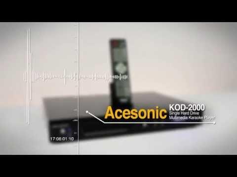 Acesonic KOD-2000 Single Hard Drive Multimedia Karaoke Player