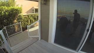 Golden Gate Enterprises Bay Area General Contractor Glass Railing Before Shirley Discovery Bay