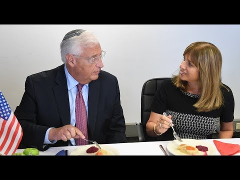 MUST WATCH: Can U.S Diplomats Stomach GEFILTE FISH?!