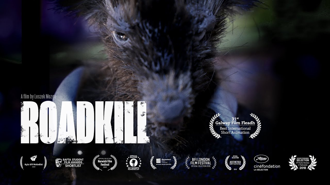 Roadkill - Trailer of short stop-motion animated thriller