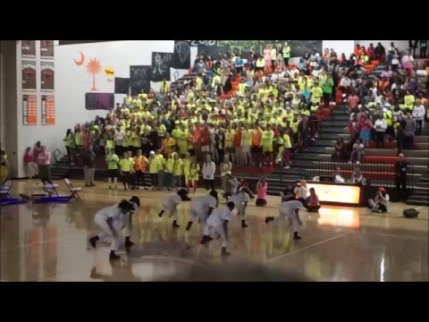 Mauldin High School Spirit 2016 The Neon Experience