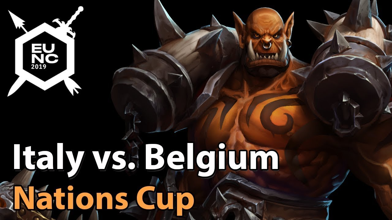 ► Italy vs. Belgium - Nations Cup - Heroes of the Storm Esports