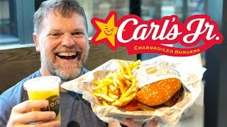 Carl's Jr / Hardees Western Bacon Cheese Burger Meal Deal Food Review - Greg's Kitchen