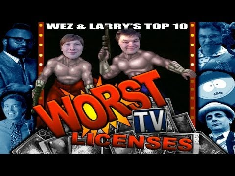 Top 10 Worst TV Licenses  Shows - Wez and Larry&39;s Top Tens Part Two