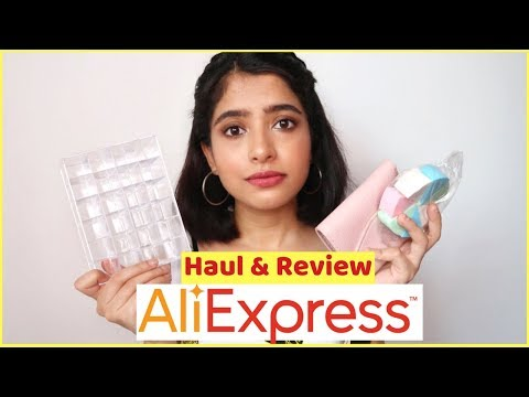 ALIEXPRESS HAUL (India) | I Got Scammed Lol | Anindita Chakravarty