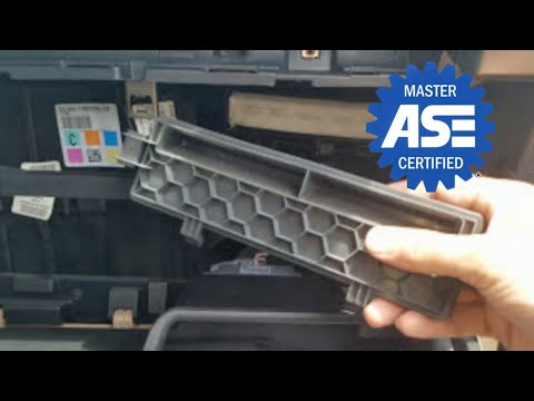 2010 Ford F150 Xl Cabin Air Filter Location Cabin Filter Replacement Ford Flex 20092017 2013 ...