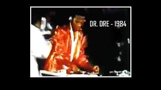 1984 - DR. DRE Escrachando Debutando Como DJ Con Su Primer Grupo