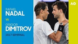 AO Classics: Rafael Nadal v Grigor Dimitrov (2017 SF)