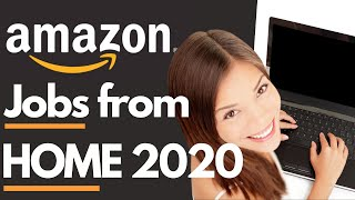7 Amazon Jobs From Home | amazon customer service jobs Hiring Now! 2020amazon careers from home