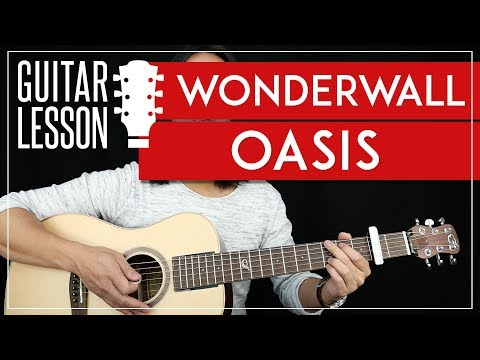 Wonderwall Guitar Tutorial - Oasis Guitar Lesson 🎸 |Easy Chords + Guitar Cover|