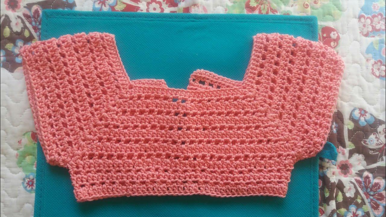 Bolero Canesu A Crochet Youtube