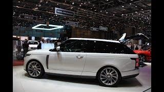 Женева 2018: Range Rover Coupe Стал Дороже И Круче Bentley
