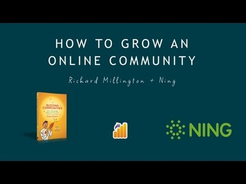 How to Grow an Online Community