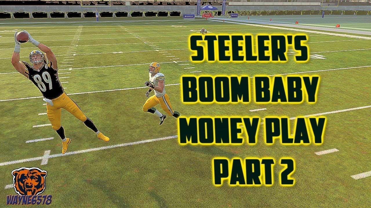 The Best Money Play in Madden 19 Steelers Mini Scheme Part 2