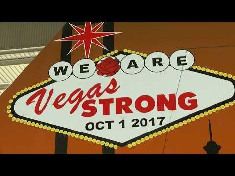 Nellis Air Force Base makes jet 'Vegas Strong'