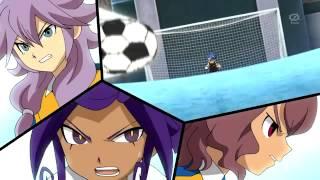 Inazuma Eleven Go Chrono Stone Normal Shoot vs Shin Taikoku Ouka FULL HD