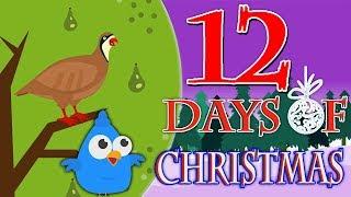 Двенадцать дней Рождества | рождественские гимны для детей | Twelve Days of Christmas | Kids Songs