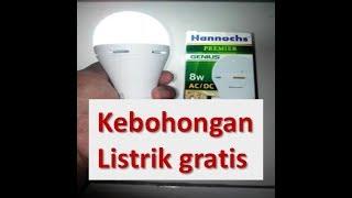"""""""MEMBONGKAR TRIK LISTRIK GRATIS"""" - ( EXPLAINS FREE ELECTRICITY)✌"""