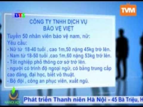 Công ty dịch vụ bảo vệ Việt tuyển dụng