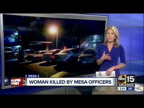 Woman killed in Mesa officer-involved shooting