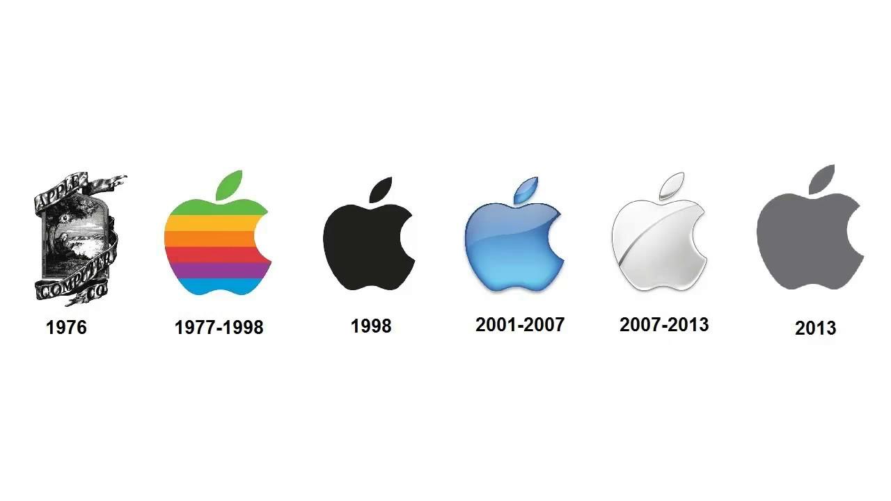 apple logo history youtube