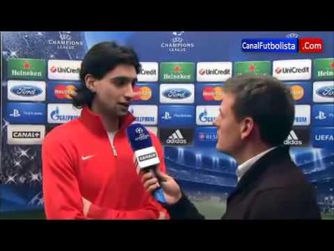 Pastore Barcelona 1-1 Paris Saint Germain Champions League 10-04-2013