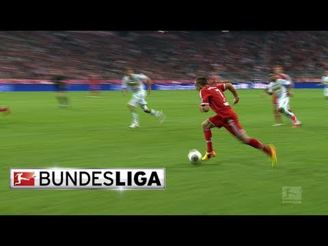 Franck Ribery Shows Star Dribbling Skills