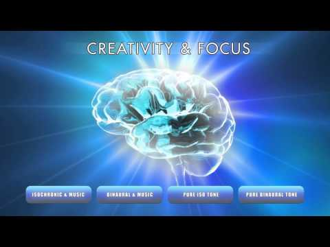 Creativity & Focus - Creative Thinking and Problem Solving for Study - Binaural Beats & Iso Tones