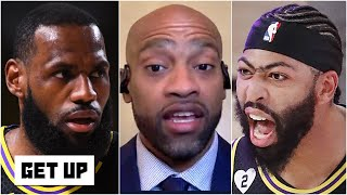 Vince Carter's observations about Anthony Davis, LeBron and the Lakers following Game 2   Get Up